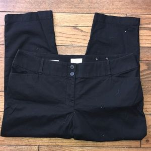 🖤🖤LOFT Curvy Cropped Pants New